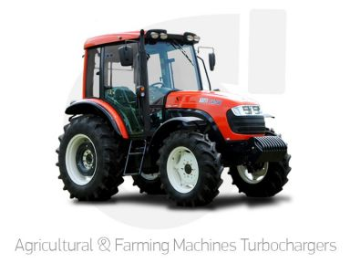 Agricultural & Farming Machines Turbochargers