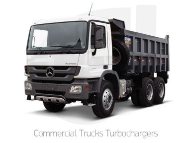 Commercial Trucks Turbochargers