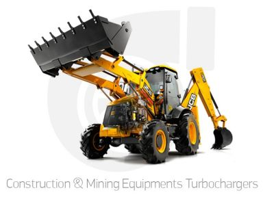 Construction & Mining Equipments Turbochargers